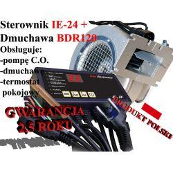 Sterownik kotła pieca co IE24 + Dmuchawa BRD120 !!