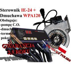 Sterownik kotła pieca co IE24 + Dmuchawa WPA120 !!