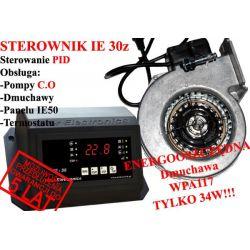 Sterownik kotła pieca CO IE30z PID Dmuchawa WPA117