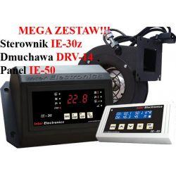 Sterownik kotła IE30z PID+Panel IE50+DmuchawaDRV14