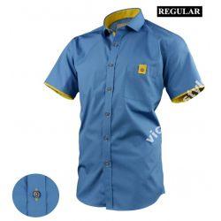 Koszula VICTORIO Krótki Rękaw Regular XL 43/44