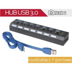 HUB USB 3.0 rozdzielacz 7-portowy Wwa