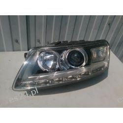 Audi A6 C6 Lift LED - lewa lamp przód Bi-Xenon