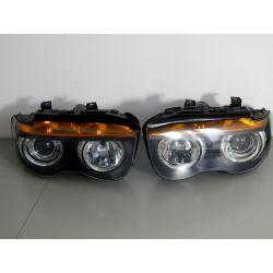 BMW 7 E65 BI-XENON KOMPLET LAMP Lampy przednie