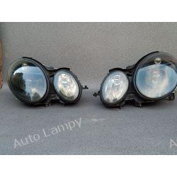 MERCEDES E-KLASA W211 KOMPLET LAMP BI-XENON NIESKR.