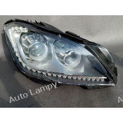 MERCEDES CLS W218 BI-XENON PRAWA LAMPA LED Motoryzacja