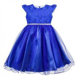 Sukienka Aradia chabrowa firmy AL-DA