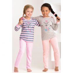 Piżama dziewczęca długa Amelia