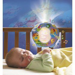 Projektor z lampką Kubuś Puchatek Disney TOMY Lampki - projektory