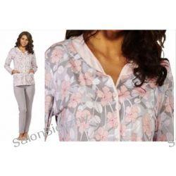 530* LUNA 512 piżama damska rozpinana pastele XXL