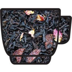 CZERWONA RÓŻA - herbata czarna 100g - POZNAŃ Delikatesy