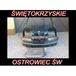 BMW E39 MASKA ZDERZAK PRZÓD KOMPLETNY WENTYLATOR