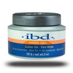 IBD ŻEL BUILDER GEL 56g * PURE WHITE HARD GEL Zdrowie i Uroda