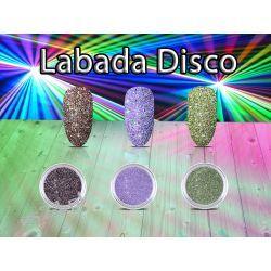 EFEKT Labada Disco jak świecące laserowymi koloram Zdrowie i Uroda