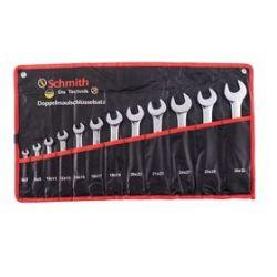 Komplet kluczy dwustronnych płaskich 12 sztSchmith