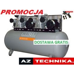 Kompresor tłokowy WALTER GK 1760-2x5,5/500  GRATIS