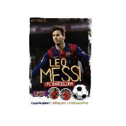 Wszystko o Leo Messi książka dla fana FC Barcelona