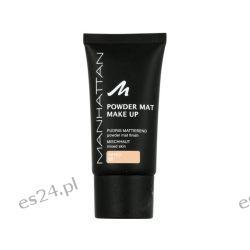 MANHATTAN Powder Mat 80 SAND 30ml Podkład Makijaż