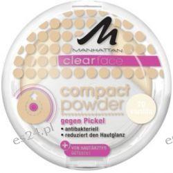 MANHATTAN CLEARFACE Powder Antybakteryjny 70 Makijaż