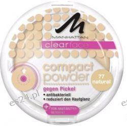 MANHATTAN CLEARFACE Powder Antybakteryjny 77 Makijaż