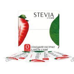 Stewia (Stevia), Ekstrakt z Liści Stewii, 25 saszetek x 1 g - Słodzik naturalny, Cukrzyca  Kremy i maści