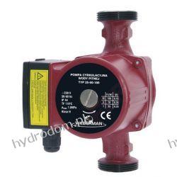 Pompa obiegowa WEBERMAN 25-60 /180 mm 3 biegowa 230V zamiennik UPS 25-40  Piece wolnostojące