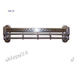 Wieszak chromowany przyścienny - 35 cm