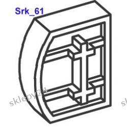 Wkładka redukcyjna do płyty, szkła, lustra - 6mm