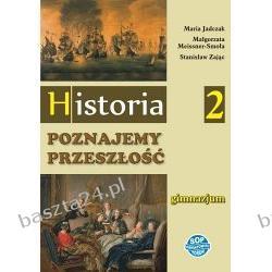 Historia. Poznajemy przeszłość 2. gimn. podręcznik. SOP