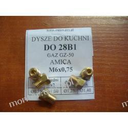 Dysze do kuchenki AMICA na gaz ziemny GZ-50 gwint M6x0,75