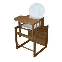 Krzesełko JARDREW OLEK rozkładane na stoliczek ORZECH