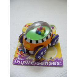 Zabawka kolorowe autko Sassy