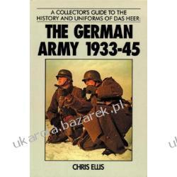 German Army 1933-45 Ellis Chris Kalendarze książkowe