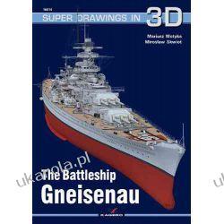 The Battleship Gneisenau (Super Drawings in 3D) Fortyfikacje