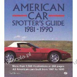 American Car Spotter's Guide 1981-1990 Kalendarze książkowe