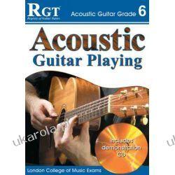 Acoustic Guitar Playing, Grade 6 (RGT Guitar Lessons) Kalendarze ścienne