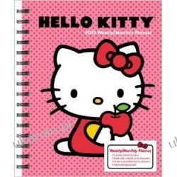 Kalendarz notatnik Hello Kitty 2015 Weekly/ Monthly Planner Calendar
