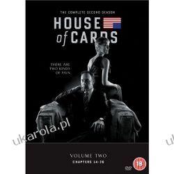 House Of Cards - Season 2 [DVD] Marynarka Wojenna