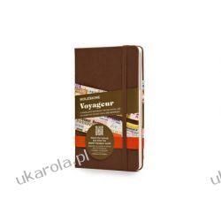 Moleskine Brown Voyageur Notebook notatnik dla podróżników Wokaliści, grupy muzyczne