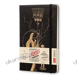 Moleskine Alice in Wonderland Limited Edition Black Hard Large Plain Notebook  Wokaliści, grupy muzyczne