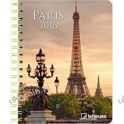 Kalendarz Paryż Notatnik 2016 Paris 16.5 x 21.6 Deluxe Diary