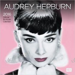 Kalendarz Audrey Hepburn 2016 Wall Faces Calendar Projektowanie i planowanie ogrodu