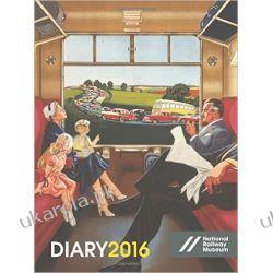 Kalendarz Notatnik Pociągi Kolej National Railway Museum Desk Diary 2016