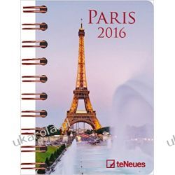 Kalendarz Paryż Wieża Eiffla 2016 Paris 8.8 x 13 Deluxe Diary Notatnik