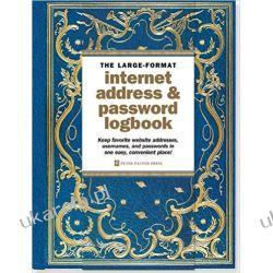 Notatnik Celestial Large-Format Internet Address & Password Logbook