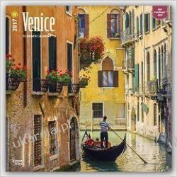 Kalendarz Wenecja Venice 2017 Wall Calendar Pozostałe