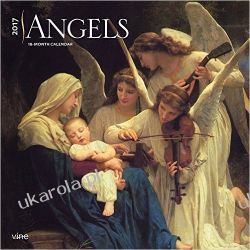 Kalendarz Anioły Angels 2017 Square Wall Calendar Biografie, wspomnienia