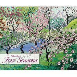 Kalendarz Cztery Pory Roku Four Seasons 2017. Kunst Art Kalender Calendar Pozostałe