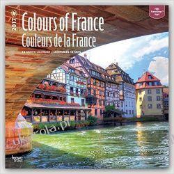 Kalendarz Colours of France - Couleurs de la France 2017 Wall Calendar Francja Projektowanie i planowanie ogrodu