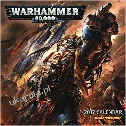 Kalendarz Official Warhammer 2017 Square Wall Calendar